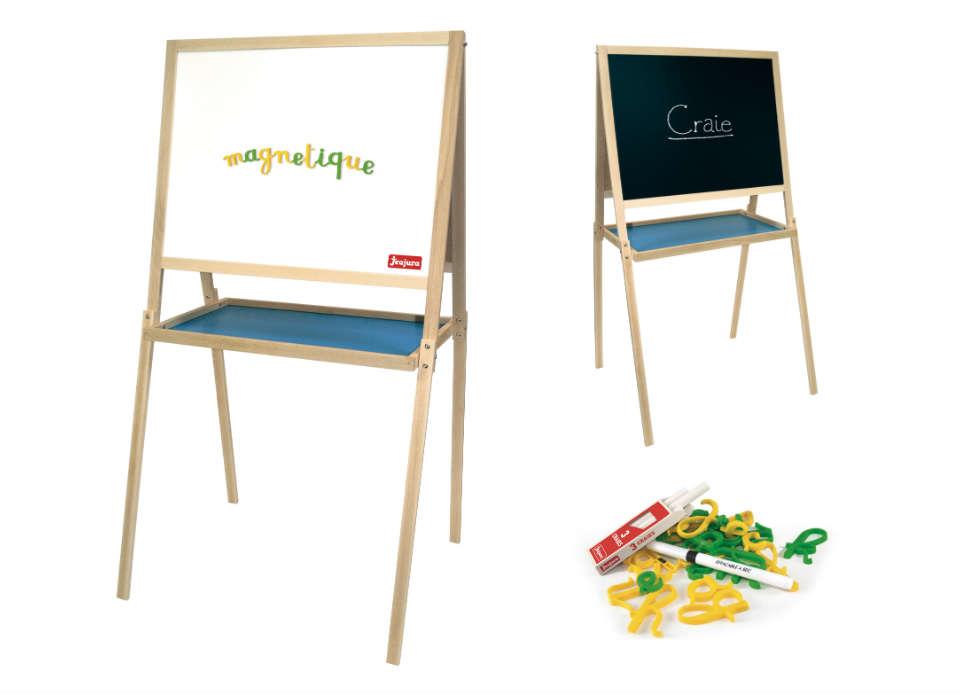 Jeujura Dřevěná multifunkční tabule 56x43 cm s příslušenstvím