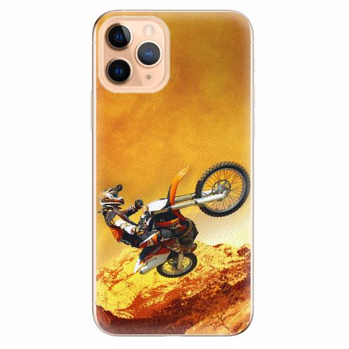 Silikonové pouzdro iSaprio - Motocross - iPhone 11 Pro