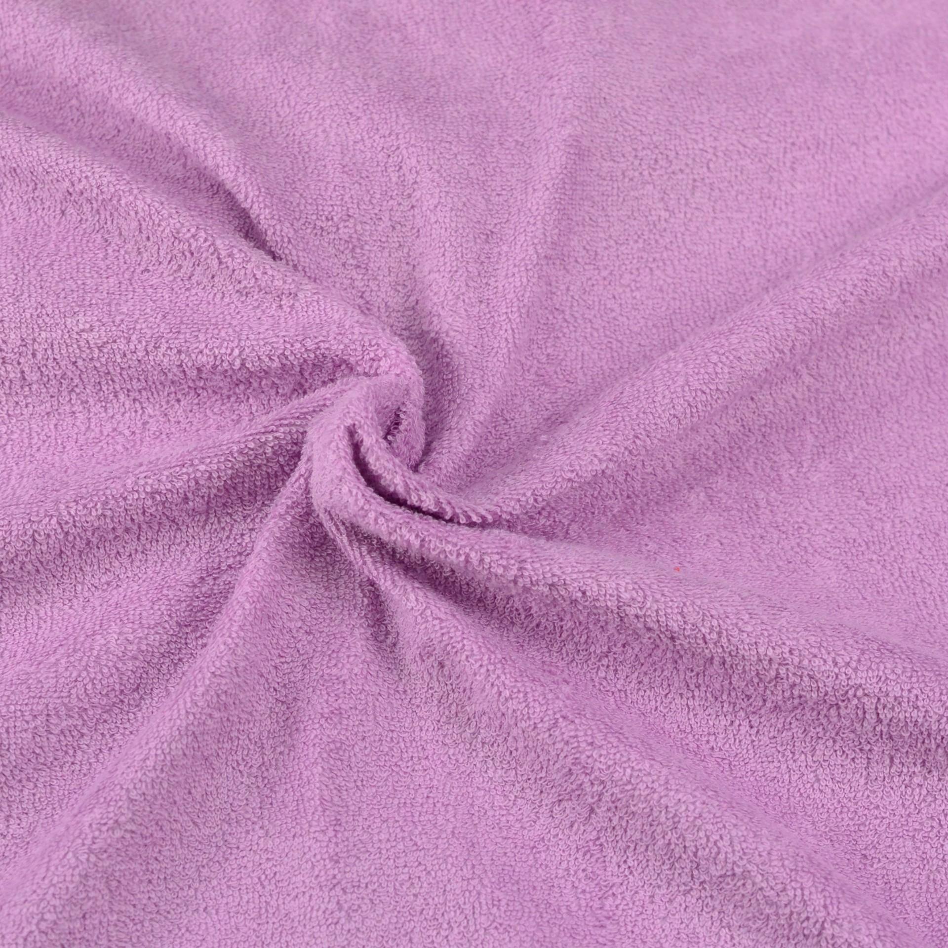 Froté prostěradlo světle fialové, Výběr rozměru - Dětské 60x120cm