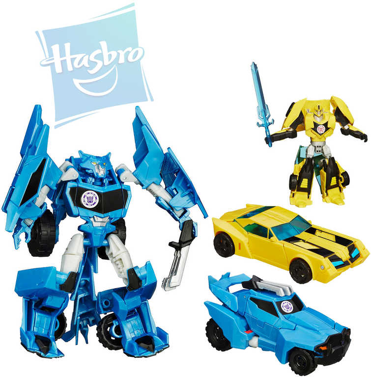 HASBRO TRA Transformers RID s pohyblivými prvky - 2 druhy