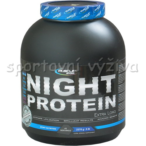 Night Extralong protein - 2270g-cokolada