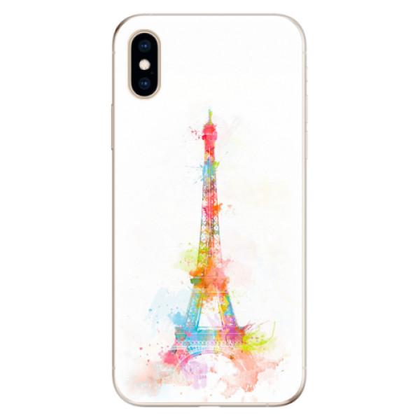 Odolné silikonové pouzdro iSaprio - Eiffel Tower - iPhone XS