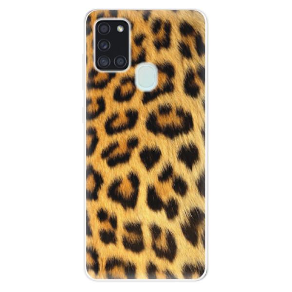 Odolné silikonové pouzdro iSaprio - Jaguar Skin - Samsung Galaxy A21s