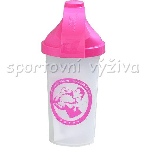 Shaker LSP šejkr 500ml pink