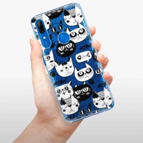 Plastové pouzdro iSaprio - Cat pattern 03 - Huawei P Smart Z