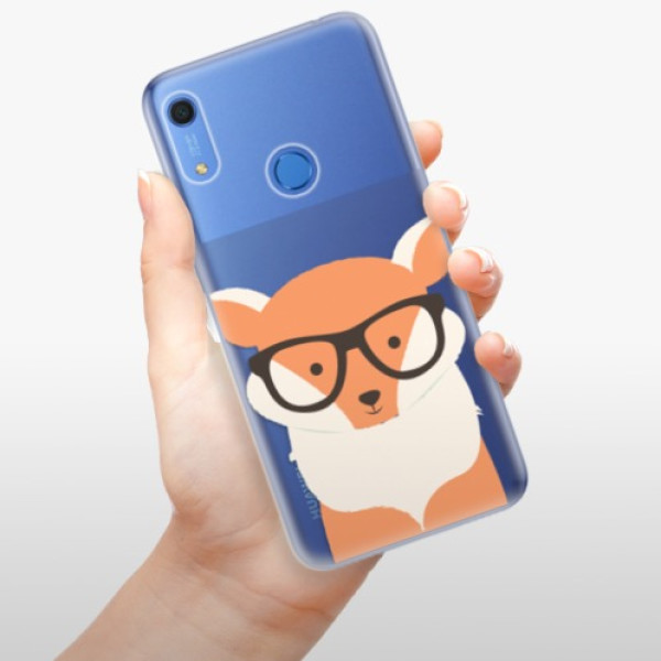 Odolné silikonové pouzdro iSaprio - Orange Fox - Huawei Y6s