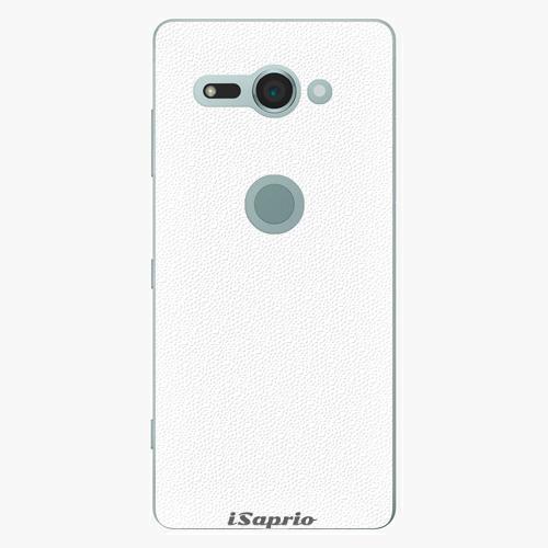 Plastový kryt iSaprio - 4Pure - bílý - Sony Xperia XZ2 Compact