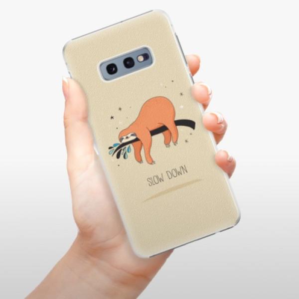 Plastové pouzdro iSaprio - Slow Down - Samsung Galaxy S10e
