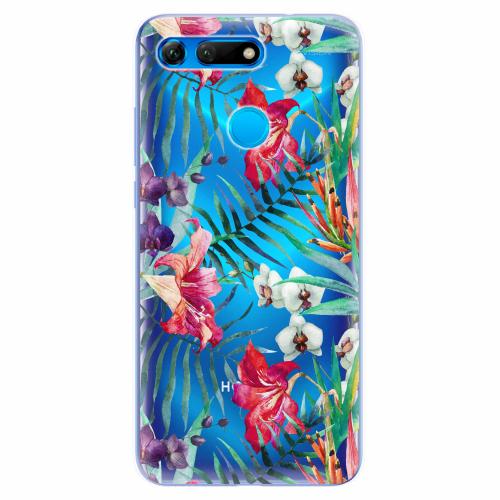 Silikonové pouzdro iSaprio - Flower Pattern 03 - Huawei Honor View 20