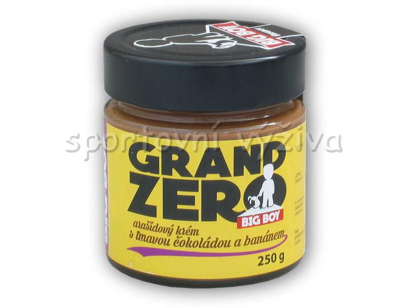 Grand zero s tmavou čoko a banánem 250g