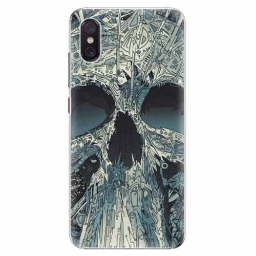 Plastový kryt iSaprio - Abstract Skull - Xiaomi Mi 8 Pro