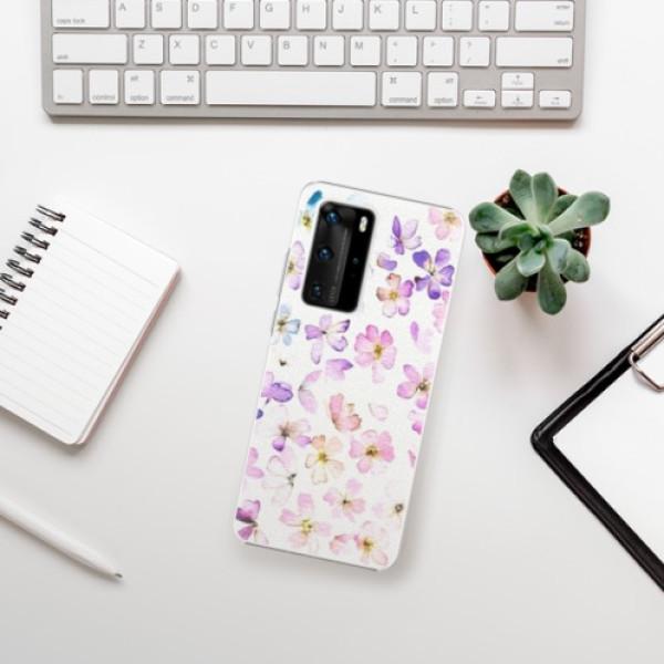 Plastové pouzdro iSaprio - Wildflowers - Huawei P40 Pro