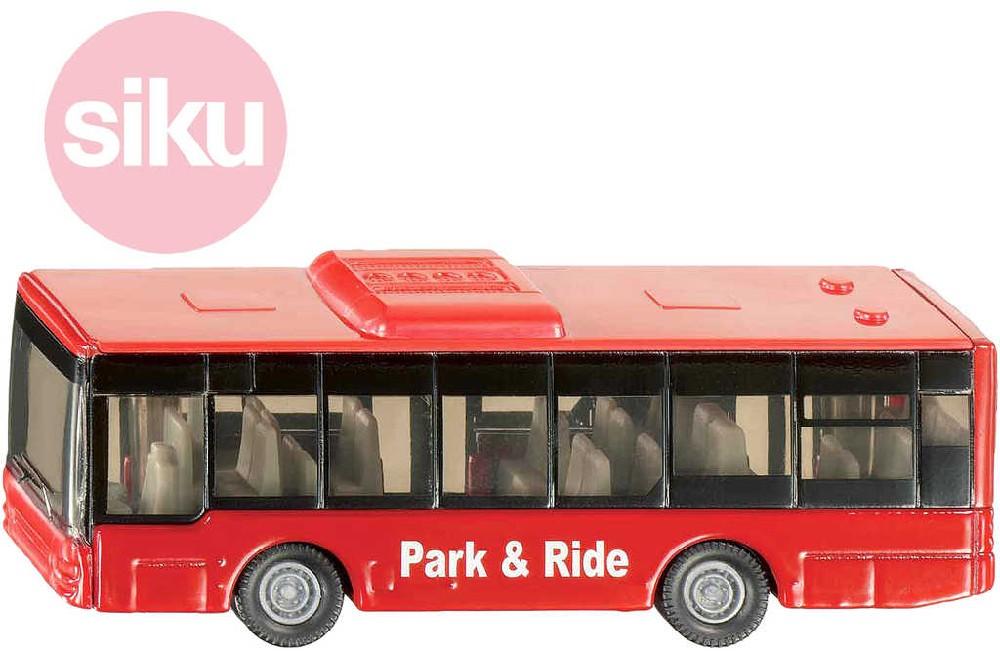SIKU Autobus městský červený kovový 1021