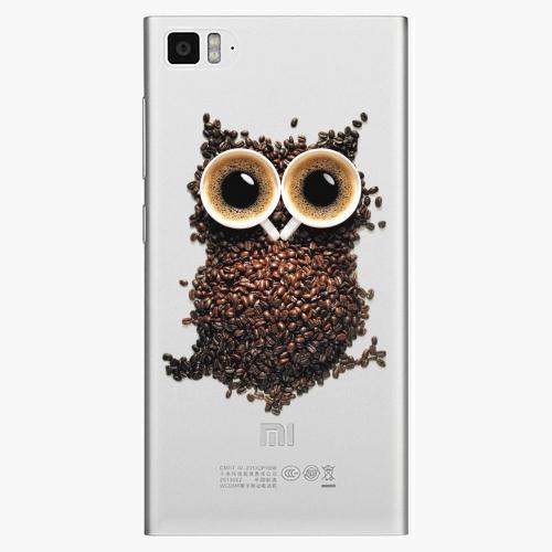 Plastový kryt iSaprio - Owl And Coffee - Xiaomi Mi3