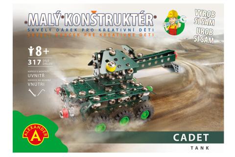 Malý konstruktér - CADET TANK 317 dílků