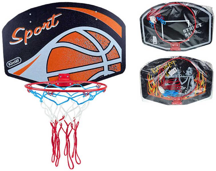 Basketbalový koš na košíkovou velký s potiskem různé druhy
