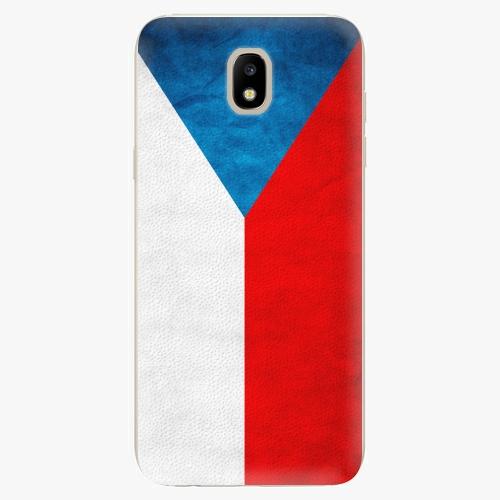 Silikonové pouzdro iSaprio - Czech Flag - Samsung Galaxy J5 2017