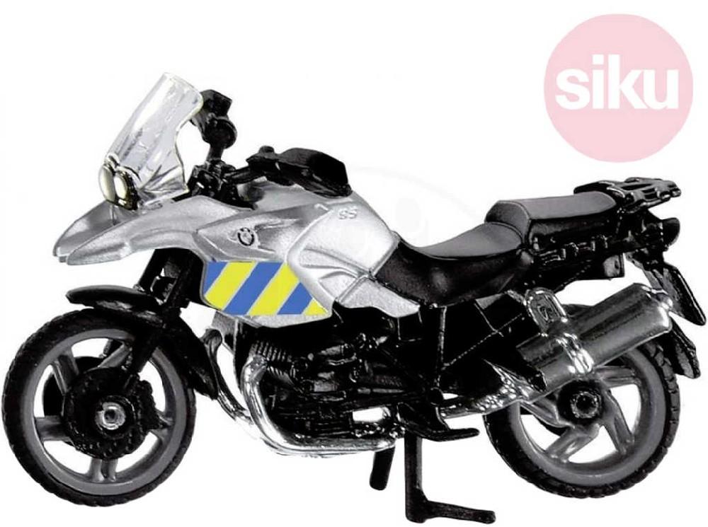 SIKU Motorka BMW POLICIE ČR policejní motocykl model kov 1049