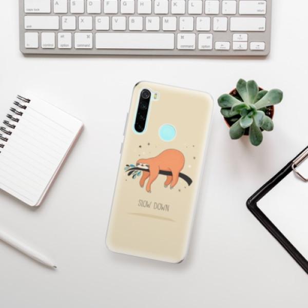 Odolné silikonové pouzdro iSaprio - Slow Down - Xiaomi Redmi Note 8
