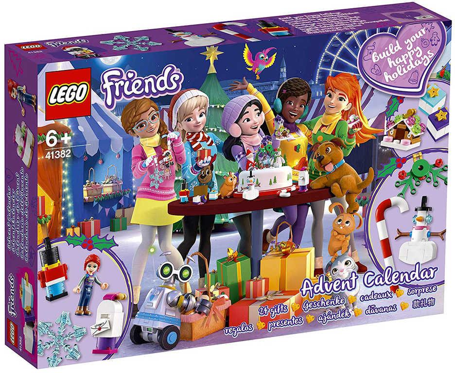 LEGO FRIENDS Adventní kalendář 41382