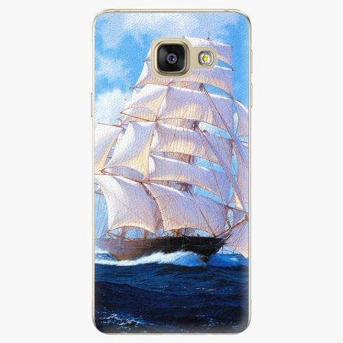Plastový kryt iSaprio - Sailing Boat - Samsung Galaxy A3 2016