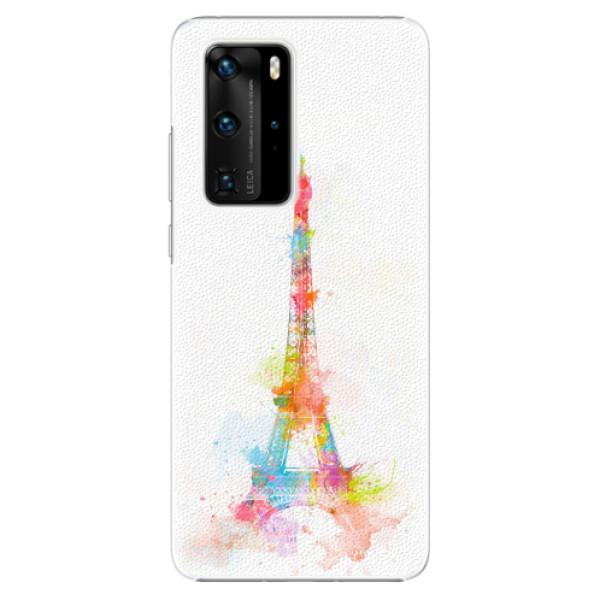 Plastové pouzdro iSaprio - Eiffel Tower - Huawei P40 Pro