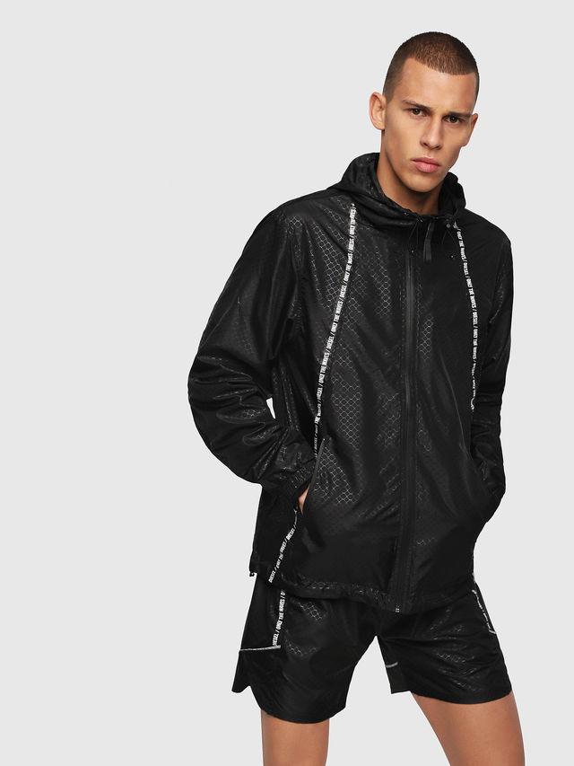Pánská bunda 00SQ01-0BAUZ černá - Diesel