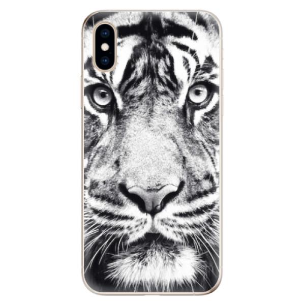 Odolné silikonové pouzdro iSaprio - Tiger Face - iPhone XS