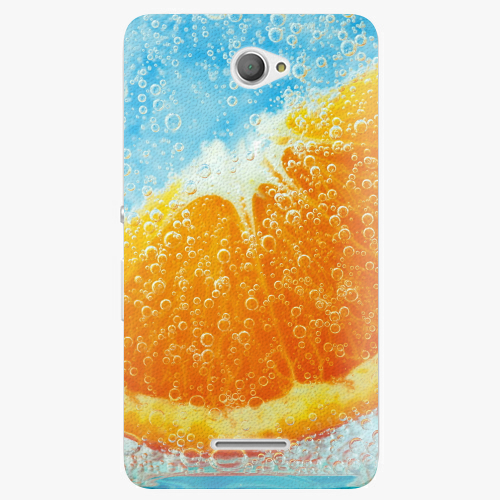 Plastový kryt iSaprio - Orange Water - Sony Xperia E4