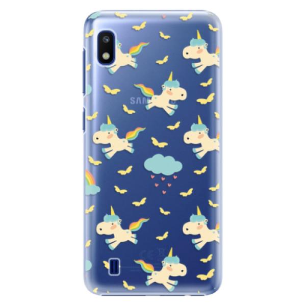 Plastové pouzdro iSaprio - Unicorn pattern 01 - Samsung Galaxy A10