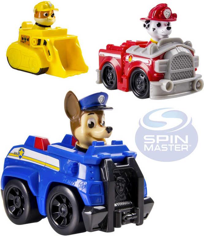 SPIN MASTER Auto záchranáři Tlapková patrola set s postavičkou různé druhy