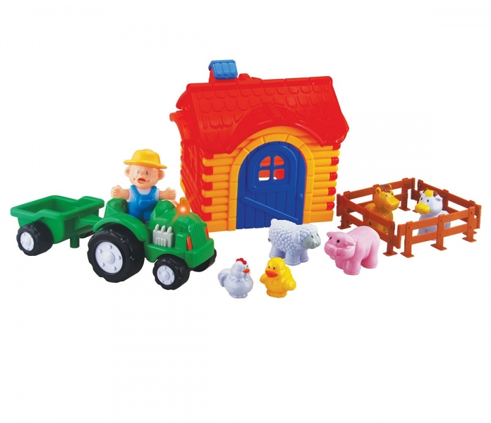 sada-traktor-s-farmou-velka-pro-nejmensi