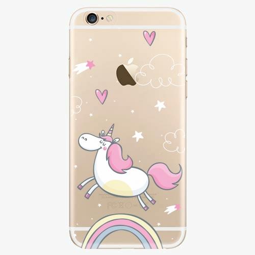 Silikonové pouzdro iSaprio - Unicorn 01 - iPhone 6/6S