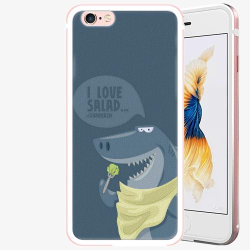 Plastový kryt iSaprio - Love Salad - iPhone 6/6S - Rose Gold