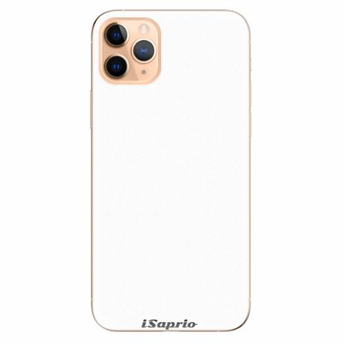 Silikonové pouzdro iSaprio - 4Pure - bílý - iPhone 11 Pro Max