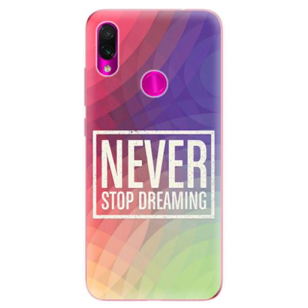 Odolné silikonové pouzdro iSaprio - Dreaming - Xiaomi Redmi Note 7