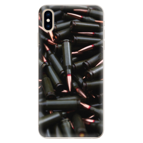 Silikonové pouzdro iSaprio - Black Bullet - iPhone XS Max