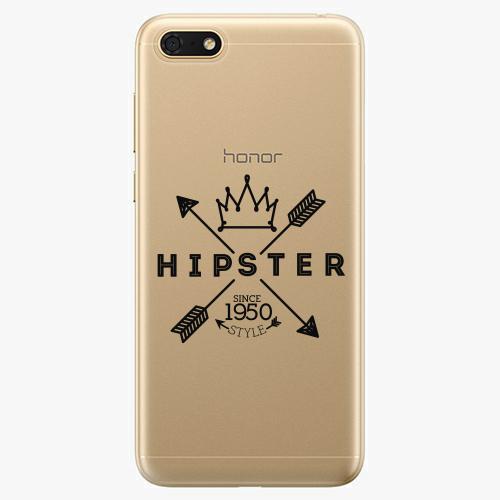 Silikonové pouzdro iSaprio - Hipster Style 02 - Huawei Honor 7S