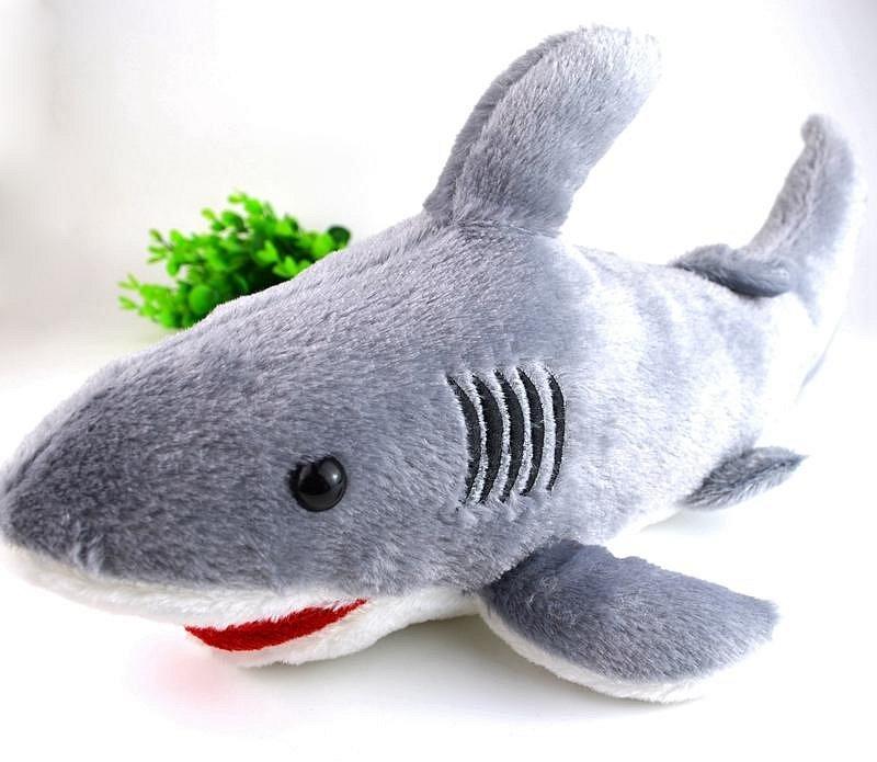 Plyšák žralok - 40 cm