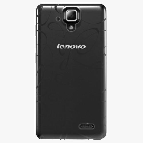 Plastový kryt iSaprio - Fancy - black - Lenovo A536