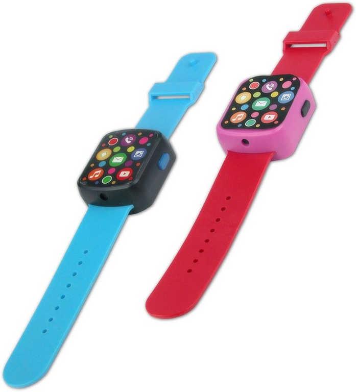Chytré fashion LED hodinky dětské záznam hlasu na baterie -  2 barvy