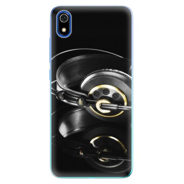 Odolné silikonové pouzdro iSaprio - Headphones 02 - Xiaomi Redmi 7A