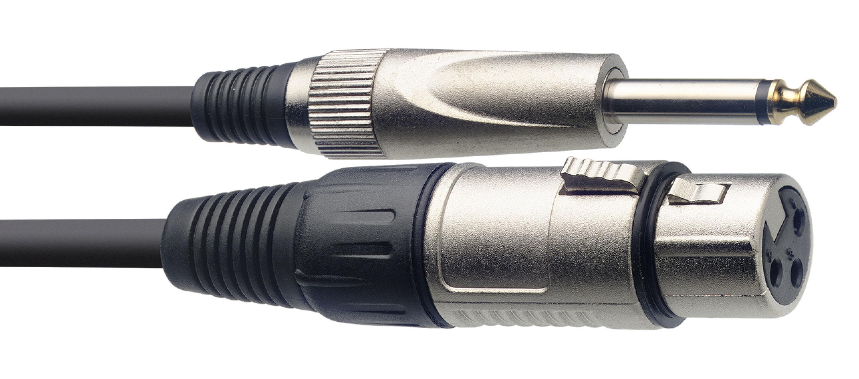 Stagg SMC3XP, mikrofonní kabel XLR/Jack, 3m