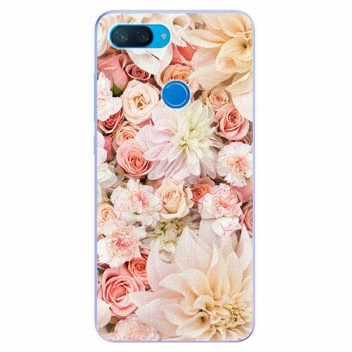 Silikonové pouzdro iSaprio - Flower Pattern 06 - Xiaomi Mi 8 Lite