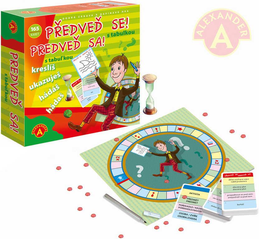 ALEXANDER Hra předvěď se! s tabulkou *SPOLEČENSKÉ HRY*
