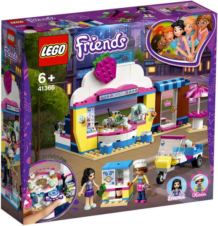 LEGO FRIENDS Olivia a kavárna s dortíky 41366