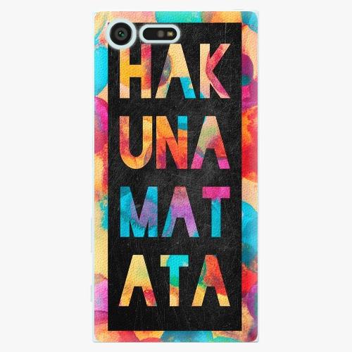 Plastový kryt iSaprio - Hakuna Matata 01 - Sony Xperia X Compact