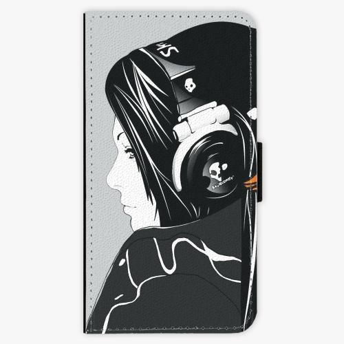 Flipové pouzdro iSaprio - Headphones - Lenovo Moto G4 / G4 Plus