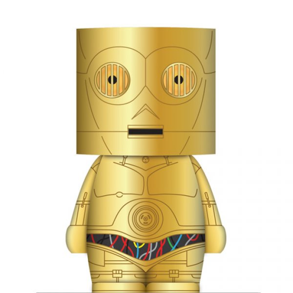 LED lampička Star Wars - C-3PO