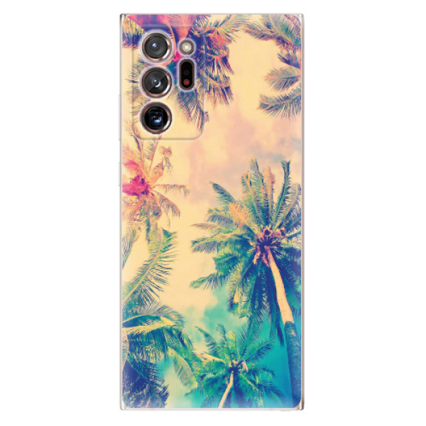 Odolné silikonové pouzdro iSaprio - Palm Beach - Samsung Galaxy Note 20 Ultra